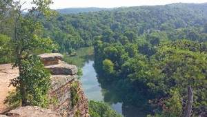 Bluff Overlook Narrows of the Harpeth