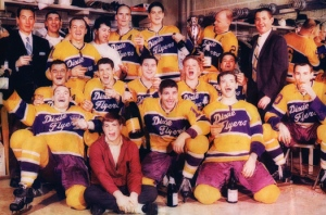 "The Nashville Dixie Flyers - back in the ""helmets optional"" days"
